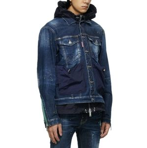 DSQUARED2 Two-In-One Hybrid Techno Dan Jacket